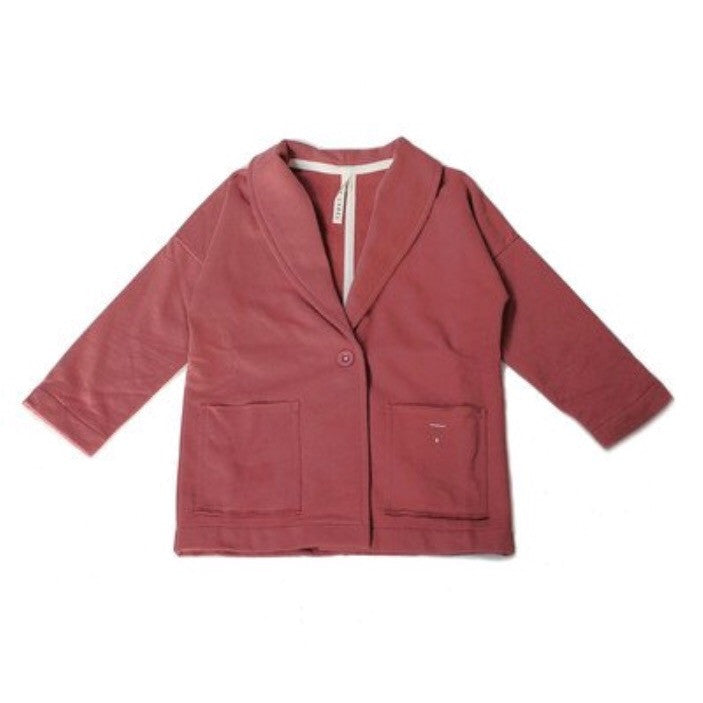 Organic Oversized Jacket - Blush