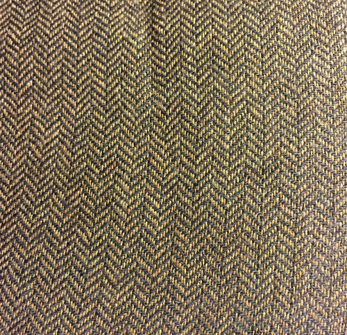 Herringbone: Brown Zig