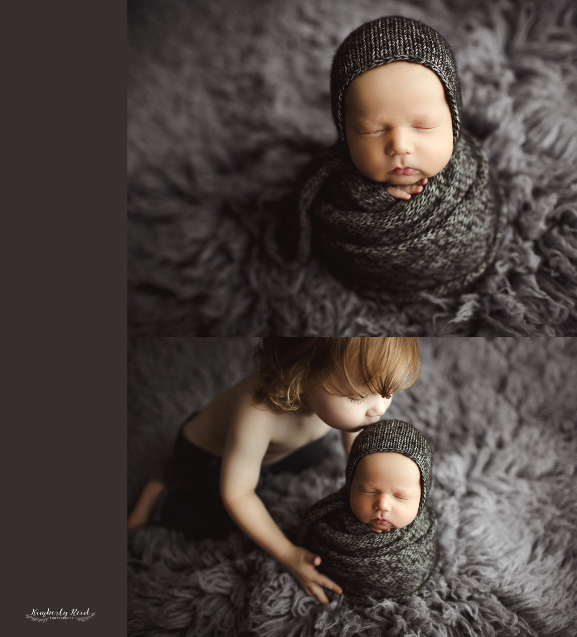 Classic Knit Newborn Bonnet and Wrap Sets - Photography Props - Knit Photography Props by Double the Stitches