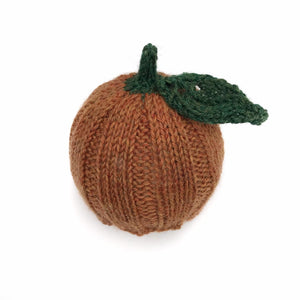Newborn Pumpkin Hat and Wrap Set - Halloween Photography Prop - Knit Photography Props by Double the Stitches
