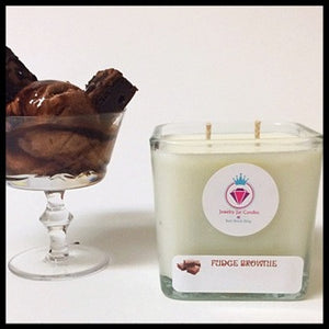 FUDGE BROWNIE - Jewelry Jar Candles