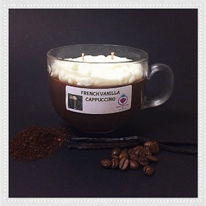 FRENCH VANILLA CAPPUCCINO NECKLACE CANDLE