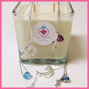 UNSCENTED NECKLACE CANDLE - Jewelry Jar Candles
