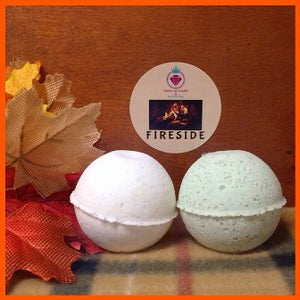 FIRESIDE, MEN'S BATH BOMB WITH SNAPS