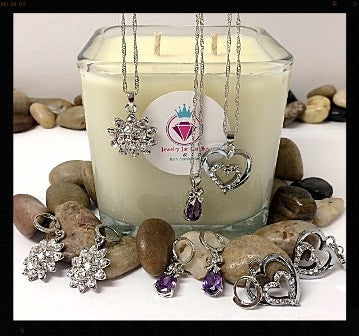 UNSCENTED, THE PERFECT PAIR - Jewelry Jar Candles