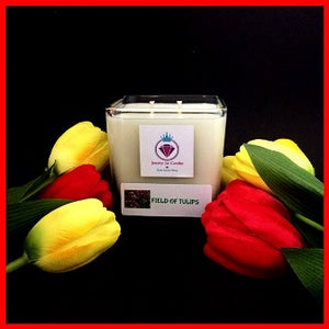 FIELD OF TULIPS - CANDLES FOR WOMEN