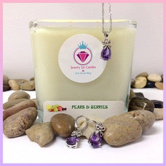 PEARS & BERRIES, THE PERFECT PAIR - Jewelry Jar Candles