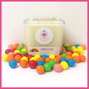BUBBLEGUM NECKLACE CANDLE - Jewelry Jar Candles