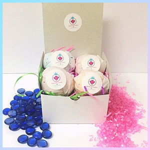 HIS & HERS BATH BOMB BOX - Jewelry Jar Candles