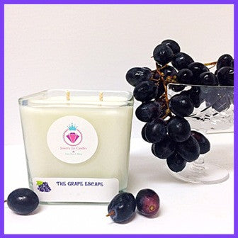 THE GRAPE ESCAPE - Jewelry Jar Candles