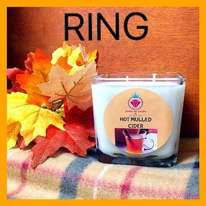 HOT MULLED CIDER - CANDLES FOR WOMEN