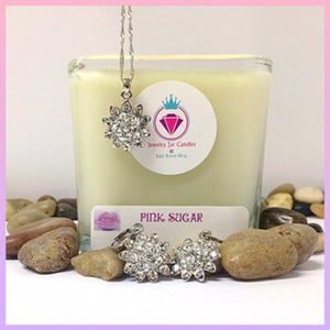 PINK SUGAR, THE PERFECT PAIR - Jewelry Jar Candles