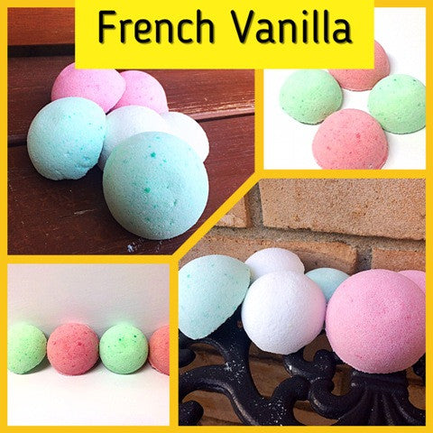 FRENCH VANILLA SHOWER STEAMERS FOR HER - Jewelry Jar Candles