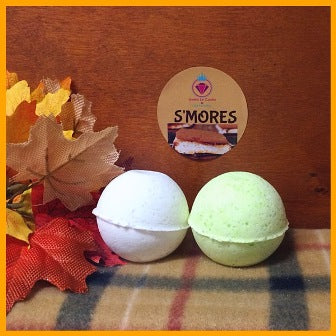 S'MORES SHOWER STEAMERS & BATH BOMBS FOR WOMEN