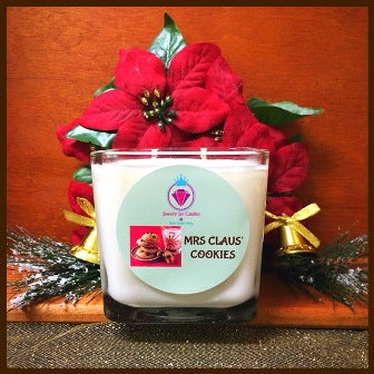 MRS. CLAUS' COOKIES CANDLES - FOR MEN