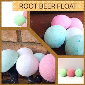 ROOT BEER FLOAT SHOWER STEAMERS FOR HER WITH RINGS