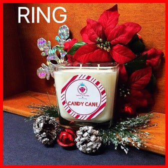CANDY CANE CANDLES - FOR MEN