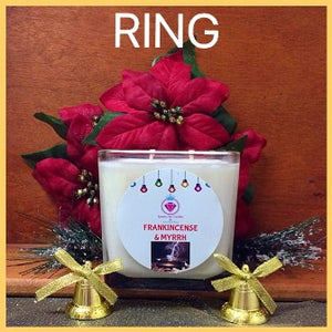 FRANKINCENSE & MYRRH  CANDLES - FOR MEN