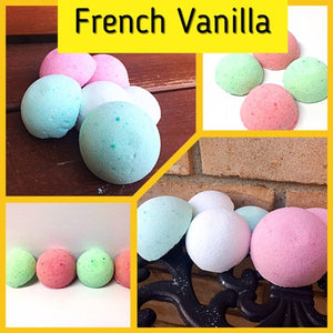 FRENCH VANILLA SHOWER STEAMERS FOR HIM - Jewelry Jar Candles