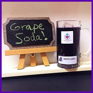 GRAPE SODA IN A COLLECTORS MUG,  BRACELET MANDLE