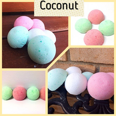 COCONUT SHOWER STEAMERS FOR HIM - Jewelry Jar Candles