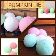 PUMPKIN PIE SHOWER STEAMERS & BATH BOMBS FOR WOMEN