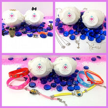 PINK SUGAR, BATH BOMB BLING FOR KIDS - Jewelry Jar Candles