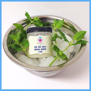 The Big Chill Sugar Scrub - Necklace Edition - Jewelry Jar Candles