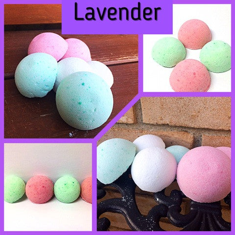 LAVENDER SHOWER STEAMERS FOR HER - Jewelry Jar Candles