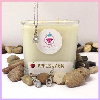 APPLE JACK, THE PERFECT PAIR - Jewelry Jar Candles