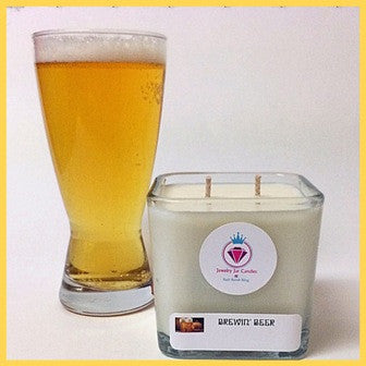 BREWIN' BEER RING MANDLE - Jewelry Jar Candles