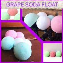 GRAPE SODA FLOAT SHOWER STEAMERS FOR HER WITH RINGS