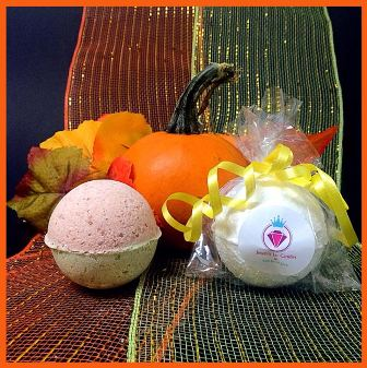 PUMPKIN PIE, BATH BOMB BLING FOR KIDS