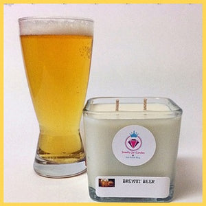 BREWIN' BEER BRACELET MANDLE - Jewelry Jar Candles