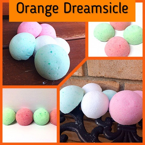 ORANGE DREAMSICLE SHOWER STEAMERS FOR HER - Jewelry Jar Candles