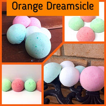 ORANGE DREAMSICLE SHOWER STEAMERS FOR HIM - Jewelry Jar Candles