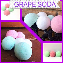 GRAPE SODA SHOWER STEAMERS FOR HER WITH RINGS