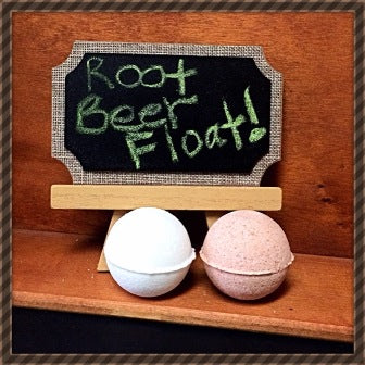 ROOT BEER FLOAT, BATH BOMB BLING FOR WOMEN