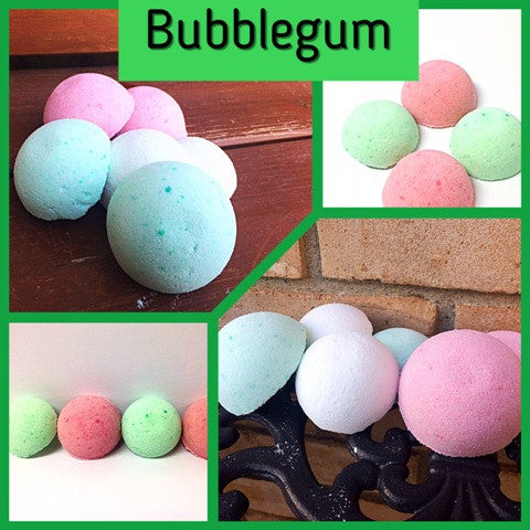 BUBBLEGUM SHOWER STEAMERS FOR HIM - Jewelry Jar Candles