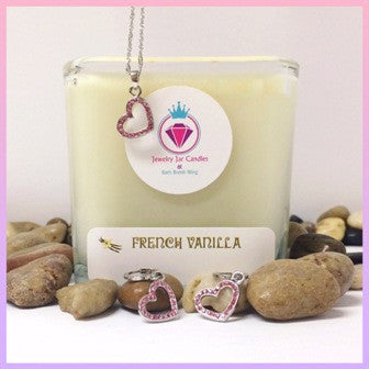 FRENCH VANILLA, THE PERFECT PAIR - Jewelry Jar Candles