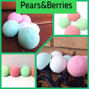 PEARS & BERRIES SHOWER STEAMERS FOR HIM - Jewelry Jar Candles