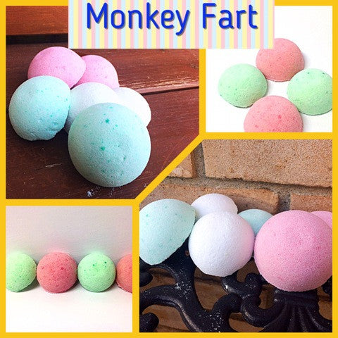 MONKEY FART SHOWER STEAMERS FOR HIM - Jewelry Jar Candles
