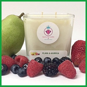 PEARS & BERRIES - Jewelry Jar Candles