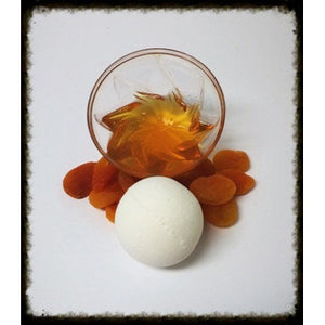 APRICOT AND HONEY, BATH BOMB - Jewelry Jar Candles
