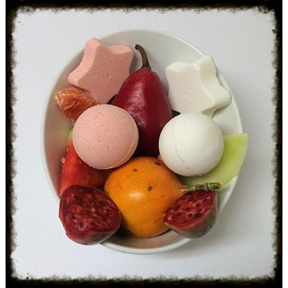 PASSION MELON, BATH BOMB - Jewelry Jar Candles