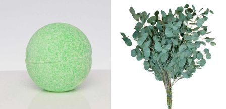 EUCALYPTUS BATH BOMB BLING FOR WOMEN