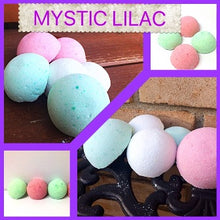 MYSTIC LILAC SHOWER STEAMERS & BATH BOMBS FOR WOMEN