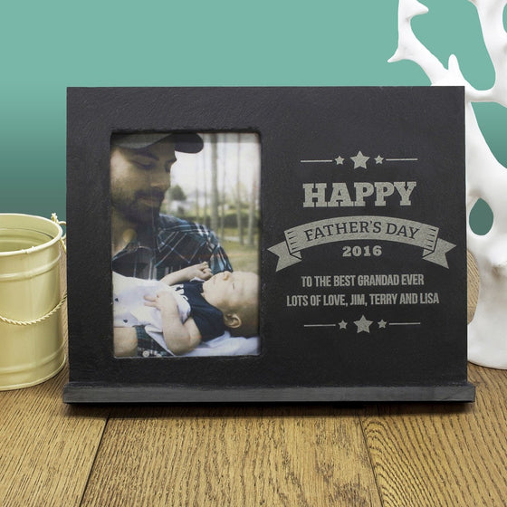 Dad's Frame Of Honour, Photo Frames - Neon Cherry