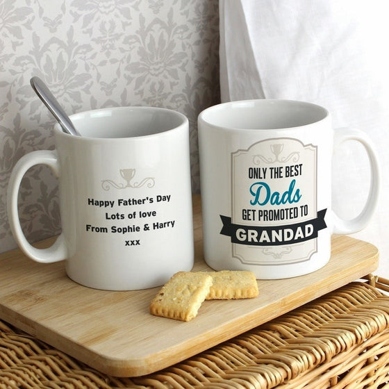 Personalised Only the Best Dads Mug