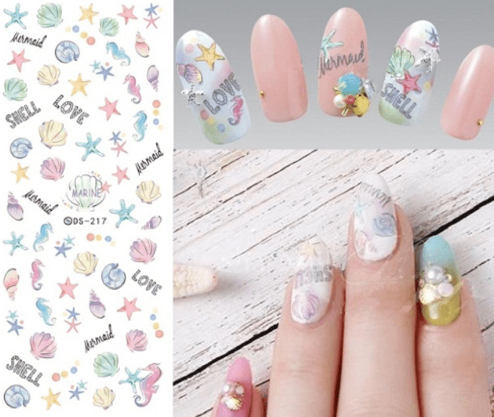 Magic Beauty Water Transfer Nails Art Sticker The Shoppers Bliss